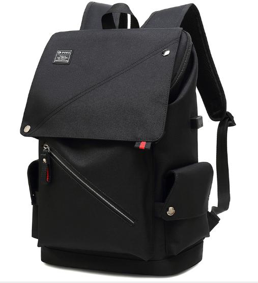 LOHAS-POSO韓式雙肩電腦背包(2色)