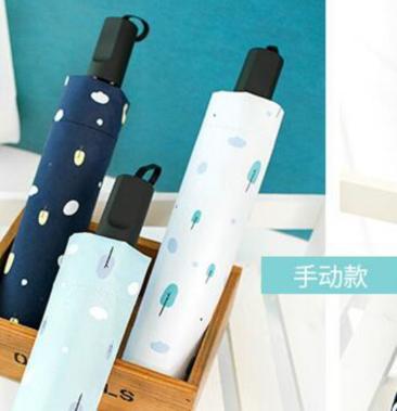 LOHAS 三折定制雨傘 [2色]