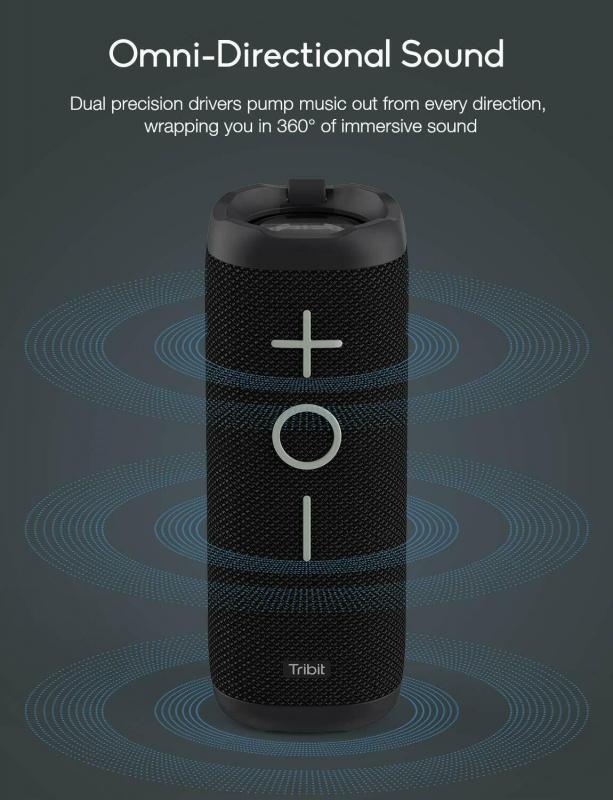 Tribit StormBoom 藍牙4.2 防水藍牙無線喇叭