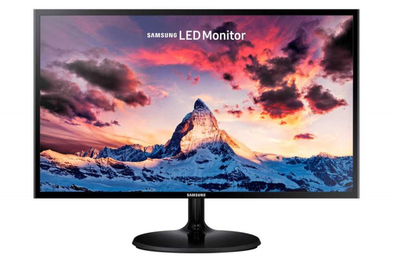 "Samsung S24F350 24"" FHD monitor with super slim, sleek design"