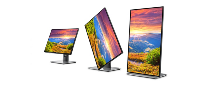 """Dell UltraSharp Monitor: U2518D ( Dell's first Ultrasharp 25"""" monitor with InfinityEdge and Dell HDR. Featuring stunning colors and spectacular clarity on a QHD display )"""