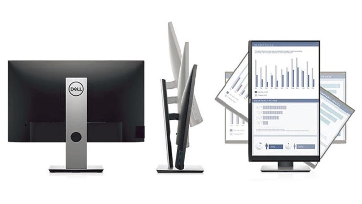 "Dell 24 Monitor: P2419H ( Optimize your workspace with this efficient 23.8"" monitor built with an ultrathin bezel design, a small footprint and comfort-enhancing features. )"
