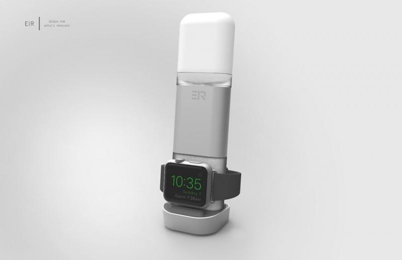 全球首款EIRTOUCH AirPods Apple Watch無線行動電源