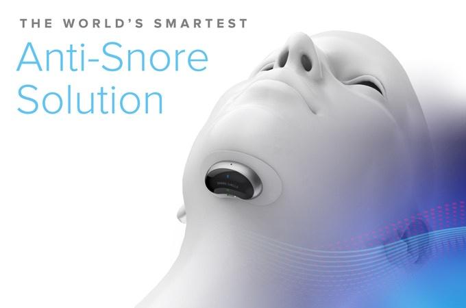 Snore Circle 下巴智能止鼾器