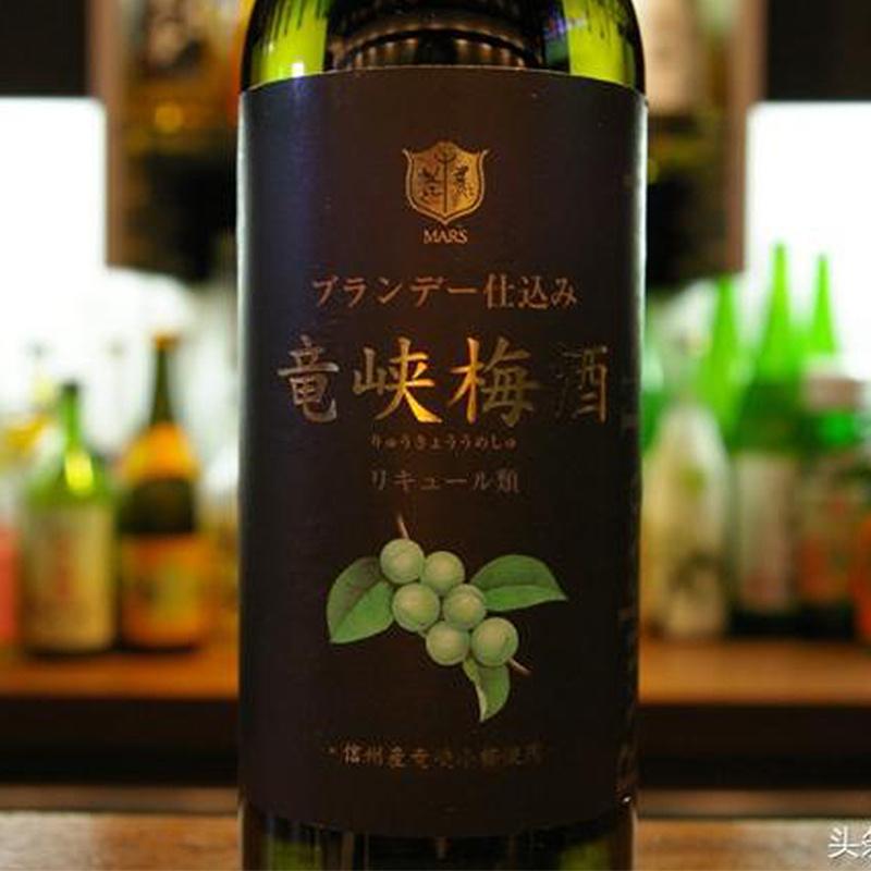 日版 本坊酒造 龍峽梅酒 (多個獎項) 白蘭地頂級釀製 720ml【市集世界 - 日本市集】