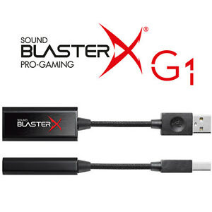 Creative SOUND BLASTERX G1虛擬7.1聲效卡