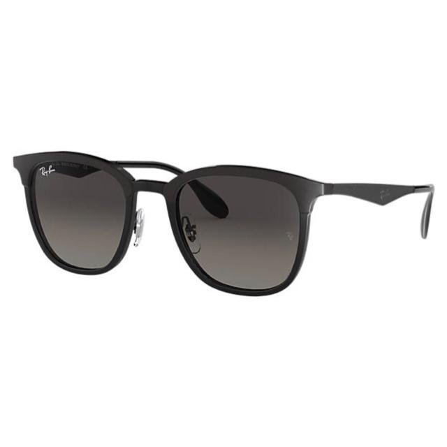 Ray-Ban RB4278 High Street 漸變灰色鏡片太陽眼鏡 | 628211 黑色鏡框