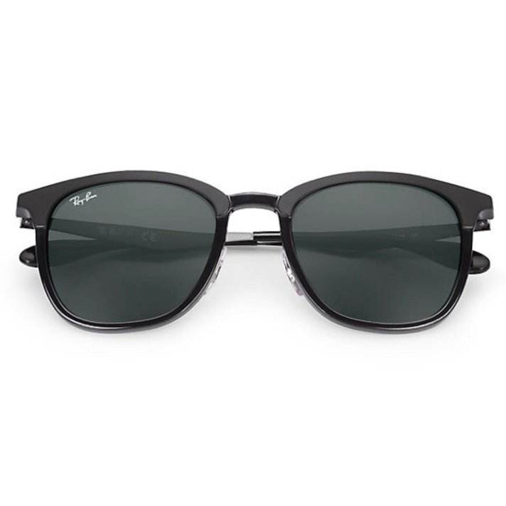Ray-Ban RB4278 High Street 經典墨綠色鏡片太陽眼鏡   628271 黑色鏡框