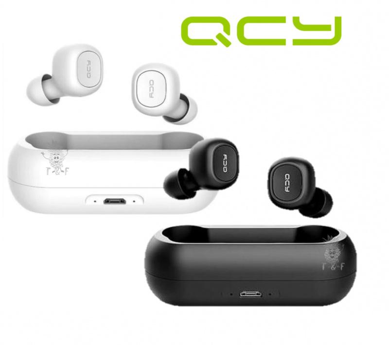 [工商免運] QCY - T1C 真無線藍牙耳機 [2色]