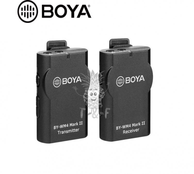 BOYA - BY-WM4 MK II 無線領夾式麥克風
