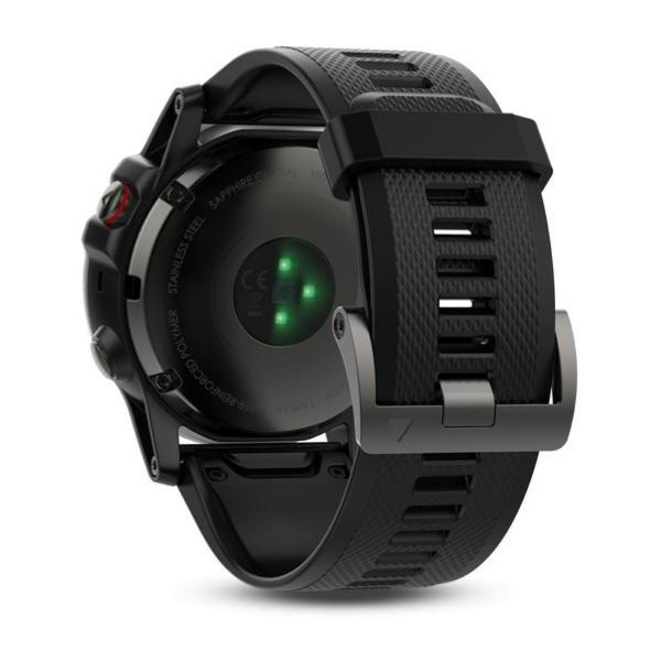 GARMIN Fenix 5x GPS 地圖 藍寶石玻璃 運動手錶 [英文版]
