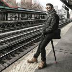 Wilderness 丹麥設計口袋收納椅 排隊神器