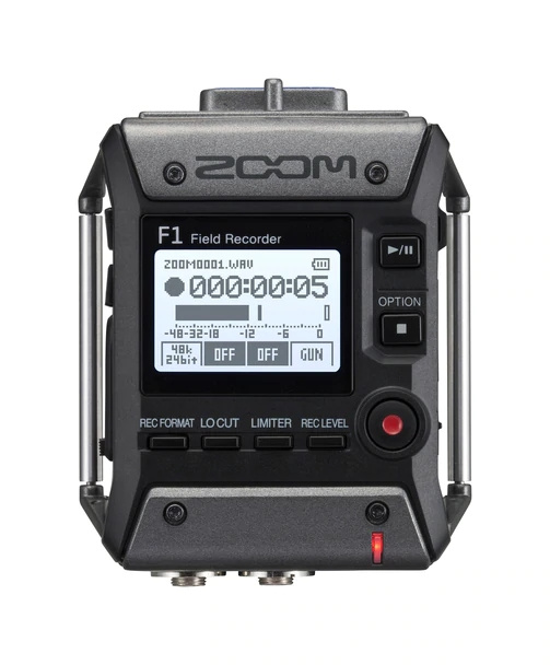 Zoom F1-SP Field Recorder + Shotgun MIc 數碼錄音機【香港行貨】