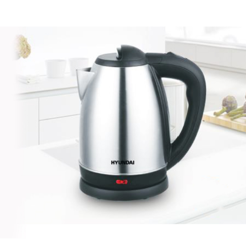 現代 - 1.7L 不銹鋼快速電熱水壺 - HY-K17
