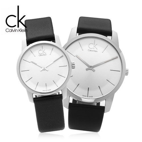 Calvin Klein CK CITY 城市經典簡約情侣腕錶 #K2G211C6 & K2G231C6