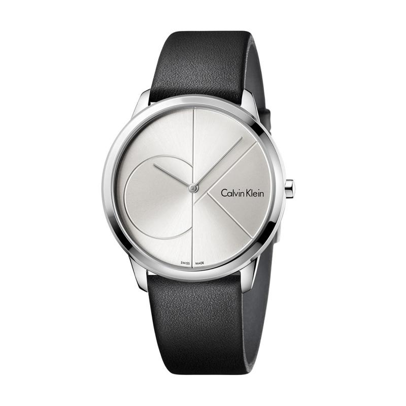 Calvin Klein CK MINIMAL 簡約情侣腕錶 #K3M211CY & K3M221CY