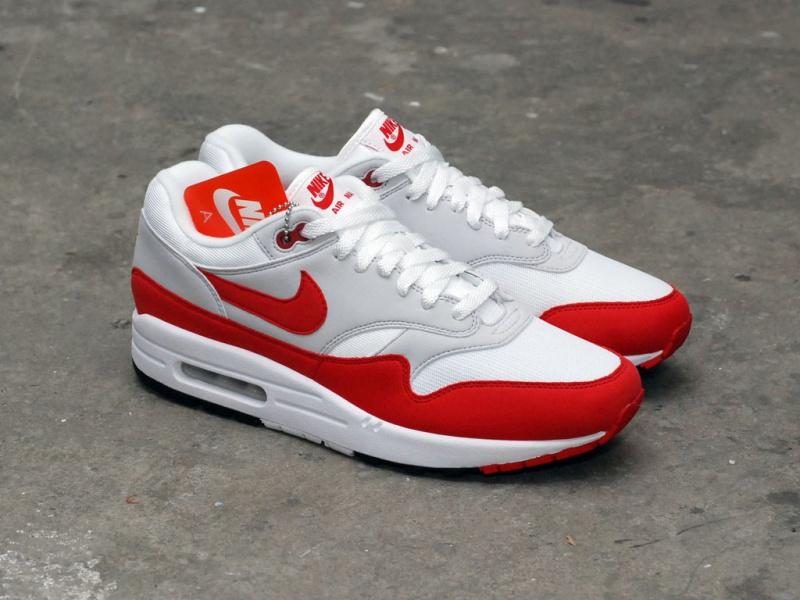 Nike Air Max 1 OG Anniversary 白紅色 [男裝]