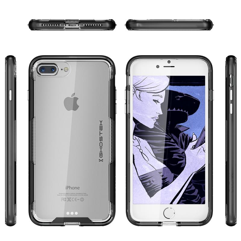Ghostek Cloak 3超薄軍用級手機殼 [iPhone 7 Plus & 8 Plus適用]