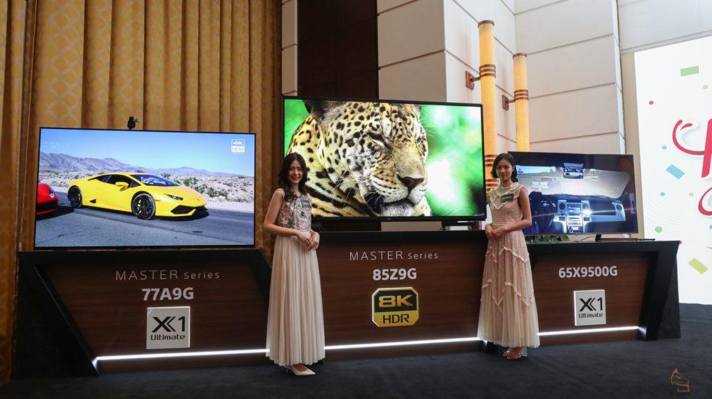8K 首現+X1 Ultimate 下放Sony Z9G & X9500G 電視速報- 品味生活