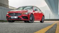 Mercedes-Benz CLA250 Coupe 燕子