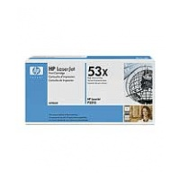 HP 53X 黑色 LaserJet 碳粉盒 (Q7553X)