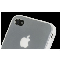 Power Support Silicone Jacket for iPhone4S/4