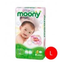moony 嬰兒紙尿片 54片 (大碼)