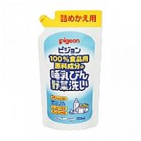 Pigeon 奶瓶蔬菜清洗液 (補充裝 700ml)