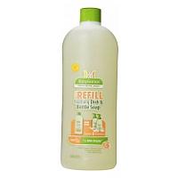 BabyGanics Foaming Dish & Bottle Soap Refill, Citrus 1L