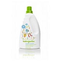 Babyganics 3x Laundry Detergent 64oz (1.89L), Fragrance Free