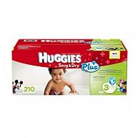 Huggies 舒爽尿片 M碼 210片裝 (原裝美國版)