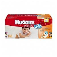 Huggies 舒爽尿片 L碼 180片裝 (原裝美國版)