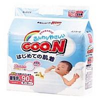GOO.N 大王 嬰兒紙尿片 (初生) 90片 日本內銷版