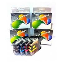 麗康墨盒 Brother LC161, 163BK, LC161, 163C, LC161, 163M, LC161, 163Y