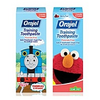 Orajel Toddler Training Toothpaste 2013