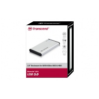 "Transcend StoreJet 25S3 2.5"" USB 3.0 ext. HDD Case"