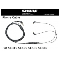 Shure CBL-M+-K Earphone Acessory Cable for iPhone and iPod