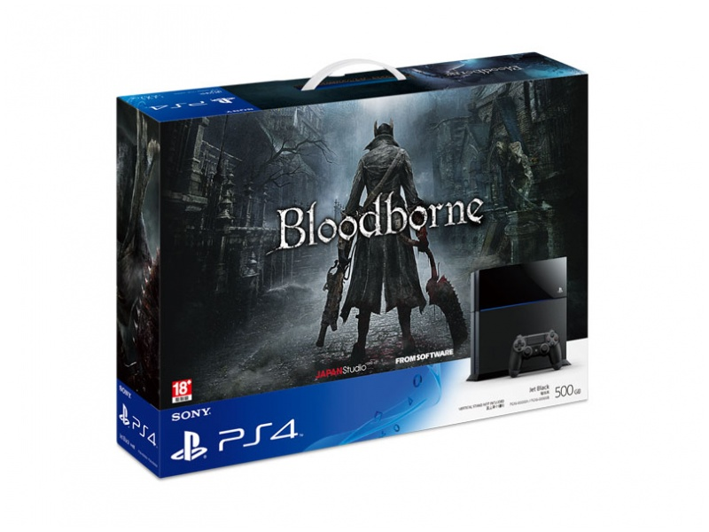Sony PlayStation 4 Bloodborne同捆裝