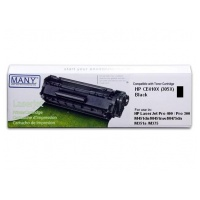 MANY HP CE410X(305X) High Capacity - Remanufactured Toner Cartridge
