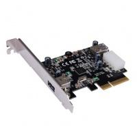STLab U-1140 PCIe USB 3.1 Gen 2 2-Port Card