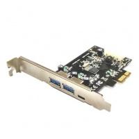 STLab U-1340 PCIe USB3.1 Gen 1 3-Ports Card