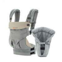 ERGObaby 360 All Positions Baby Carrier - Bundle of Joy with Easy Snug Infant Insert