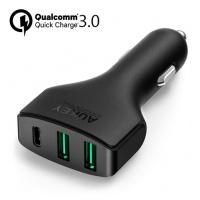 Aukey CC-Y3 QC 3.0 Type C 快速充電器 (車用)