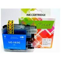 麗康墨盒 Brother LC163C,LC-163C 綻藍色墨盒