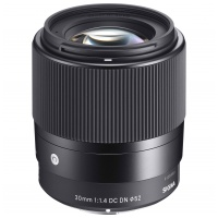 Sigma 30mm F1.4 DC DN | C Sony E (NEX)