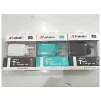 Verbatim 4 Ports USB Travel Charger