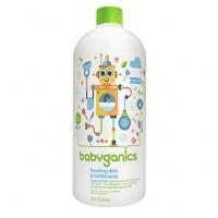Babyganics Foaming Dish & Bottle Soap 946ml