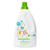 Babyganics 3x Laundry Detergent 60oz (1.77L), Fragrance Free