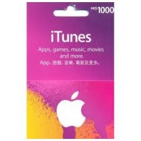 Apple iTunes 禮品卡 $1000