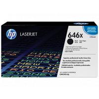 HP 646X High Yield Black Original LaserJet 碳粉盒 (CE264X)